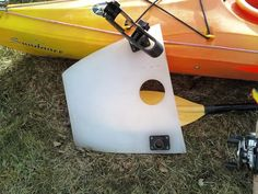 Inexpensive custom console for sit inside fishing kayaks...