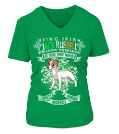 # St Patrick's Day Being Irish Jack Russell Dog .  HOW TO ORDER:1. Select the style and color you want: 2. Click Reserve it now3. Select size and quantity4. Enter shipping and billing information5. Done! Simple as that!TIPS: Buy 2 or more to save shipping cost!St Patrick's Day Being Irish Jack Russell DogThis is printable if you purchase only one piece. so dont worry, you will get yours.Guaranteed safe and secure checkout via:Paypal | VISA | MASTERCARD