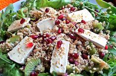 Салат из булгура с киви и сыром