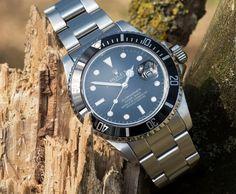 Rolex Submariner 16800 from 1985 #watch #rolex #rolexwatches | rolex watches for men | rolex horloge voor heren | rolex horloge voor mannen | vintage watches | vintage horloges | horloges heren | SpiegelgrachtJuweliers.com
