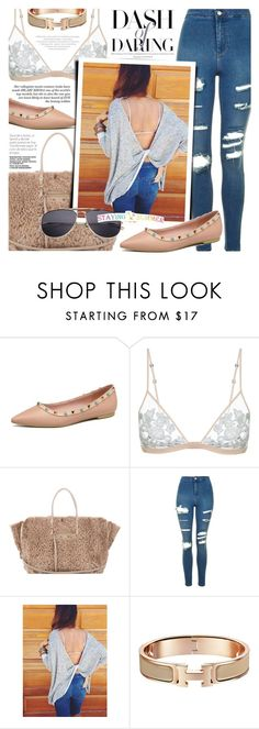 """Untitled #1706"" by noviii ❤ liked on Polyvore featuring Balenciaga and Topshop"