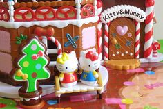 Hello Kitty Gingerbread House by Chani-Chan, via Flickr