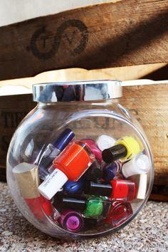 Laura Marianna Home //Nail polish? Candy? Nail polish.