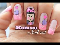 Trendy Nails, Cute Nails, Beauty Spa, Hair Beauty, Hello Nails, Cute Nail Colors, Floral Nail Art, Nail Art Videos, Cute Nail Designs