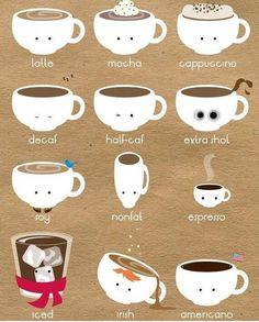#coffee #cute by adornthehunter