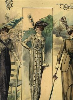 Victorian Ladies Fashion illustration