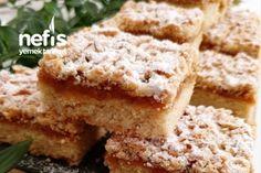 Borcamda Elmalı Kurabiye Tarifi Krispie Treats, Rice Krispies, Quiche, Food And Drink, Desserts, Fitness, Amigurumi, Bakken, Tailgate Desserts