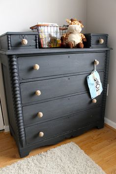 D'Bohemia: milk paint makeover