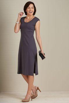 Fair Indigo Organic Fair Trade Empire Waist Dress - Dresses - Women