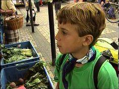 Deutsch lernen mit Jens und seinen Freunden. Folge 6 - Einkaufen auf dem Markt - YouTube