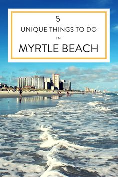 Searching for something different? There's a lot of unique things to do in Myrtle Beach including Brookgreen Gardens and La Belle Amie Vineyard.