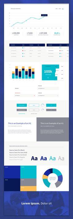 Dashboard Styles #dashboard #data #visualization