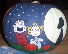 It's the Great Pumpkin! Linus, Sally and Snoopy
