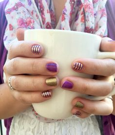 Purple and gold are colors of royalty, right? ...sign me up! Order here…