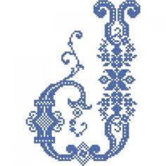 French Cross Stitch Alphabet | Embroidery Stash
