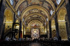 海外旅行世界遺産 教会 ヴァレッタ市街の絶景写真画像ランキング  マルタ