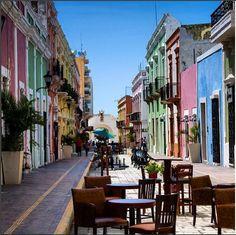 #ECOHOTELS #SWD #GREEN2STAY  Chicanná Ecovillage Resort Camina en el centro histórico de Campeche, te encantará su arquitectura colonial.  Foto: Eilonz http://green2stayecotourism.webs.com/mex-sth-america-eco-hotels