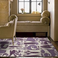 Really nice collection of floor tiles, including this gorgeous purple tile.