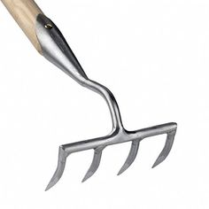 Garden Rake (4-Tine ) by Sneeboer Garden Tools This garden rake is wonderful...especially in tight spaces!