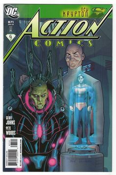 Action Comics #871 Stephane Roux Incentive Variant Cover (2008)