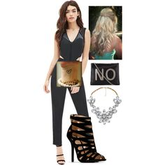 A fashion look from November 2014 featuring Forever 21 jumpsuits and Impulse necklaces. Browse and shop related looks. Jumpsuits, November, Forever 21, Fashion Looks, Necklaces, Shoe Bag, Stuff To Buy, Shopping, Collection