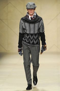 Men's Fashion Week: Burberry Prorsum FW 2012