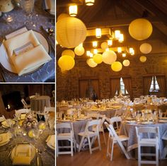 A beautiful yellow and gray wedding at Boettcher Mansion.