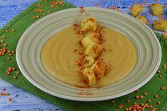 Supa crema de linte rosie - CAIETUL CU RETETE Healthy Eating, Mexican, Ethnic Recipes, Desserts, Pizza, Food, Vegan Food, Romanian Recipes, Fine Dining