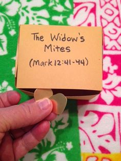 Mark 12:41-44. The Widow's Mites. Studying about a poor widow who only had two small coins on the blog tonight. Easy, inexpensive, and unique children's Bible lessons. Free to all! Take a look and share!
