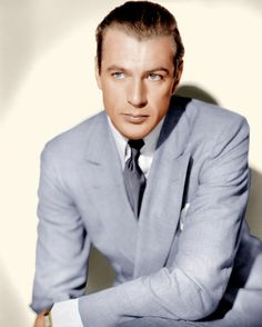 Gary Cooper. Read (in French) about the different types of men's style camps. Super clever article.