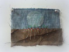 9 radishes Spirit Cloth Jude Hill...stitching a story
