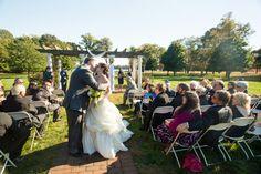 Huppah / aisle / recessional at an outdoor Jewish wedding // Found on Modern Jewish Wedding Blog // Photographer:  Uncorked Studios, LLC
