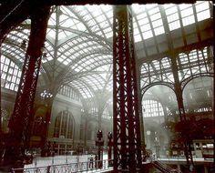 Indenfor i den gamle Penn Station. Revet ned 1963.  WWW.VIELSKERNEWYORK.DK - Danmarks bedste rejser til New York