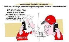 Filho de Lula foge para o Uruguai