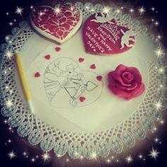 Making Valentine's cookies today ♡