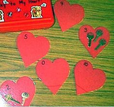 Valentine's Day ideas for prek and up
