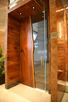 JohnHoushmand Nobu Black Walnut Door