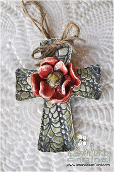 Most recent Photo Slab Pottery cross Popular Handbuilt Pottery Cross click the image for more details. Hand Built Pottery, Slab Pottery, Ceramic Pottery, Clay Cross, Cross Art, Pottery Tools, Pottery Classes, Pottery Designs, Pottery Ideas