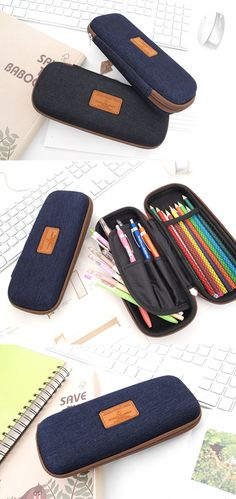 This pouch will protect items inside from any damage thanks to its sturdiness! Of course, the inside of the pouch features useful pockets to neatly organize your items!