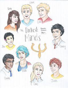 The Darkest Minds Never Fade In The Afterlight Alexandra Bracken Book Tv, Book Nerd, Book Series, Hunger Games, The Darkest Minds Series, Films Cinema, Bon Film, Fanart, Afterlight