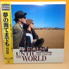 Until the End of the World (Bis ans Ende der Welt) PILF-7271 LaserDisc LD  EA016