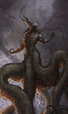 "NYARLATHOTEP   by Christian ""Cloud"" Quinot"