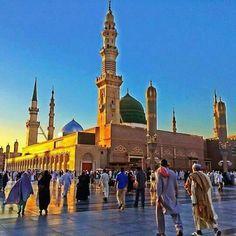 EL Madina: Madjed Ennabaoui Mekka, San Francisco Ferry, Taj Mahal, Street View, Building, Madina, Travel, Allah, Facebook