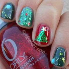 christmas by aydixiii #nail #nails #nailart