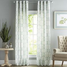 You'll love the Krenzke Geometric Room Darkening Grommet Curtain Panels at Joss & Main - With Great Deals on all products and Free Shipping on most stuff, even the big stuff.