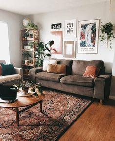 New stylish bohemian home decor and design ideas - Deco - # . - New stylish bohemian home decor and design ideas - Deco - # . Decor, Home Decor Inspiration, House Design, Home Living Room, Home, Living Room Decor, Boho Living Room, House Interior, Apartment Decor