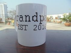 Full cup print,you can personalized your cup,  This listing is for one handmade coffe mug.  Capacity =12oz  Mugs are handprinted and made to order.picture above is an example of what yours will look like.plz allow for slight variations.  *************************************************************************************************  If would you like something written on the mug that you do not see in my shop .we love to make specially for you as a custom order,just send text or design…