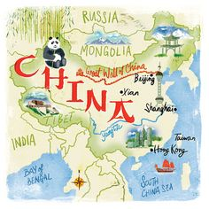 A map of China by Scott Jessop from the end of last year.