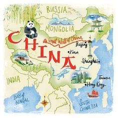 Carte Chine 2