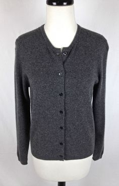 American Blue Cashmere Sweater Mens Gray Long Sleeve V Neck XXL ...
